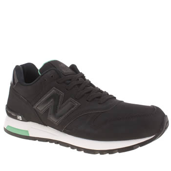 Mens New Balance Black 565 Trainers