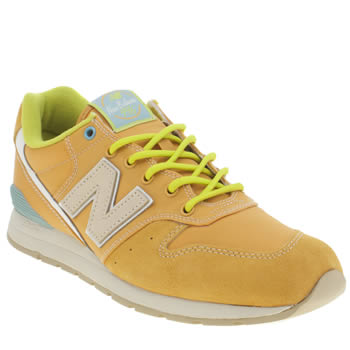 New Balance Orange 996 Trainers