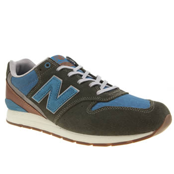 New Balance Dark Green Mrl996 V2 Trainers