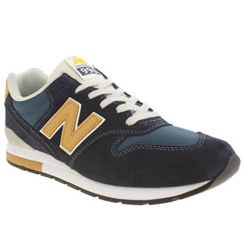 Mens New Balance Navy 996 Trainers