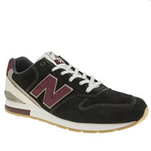New Balance Black & Red Mrl996 V2 Mens Trainers