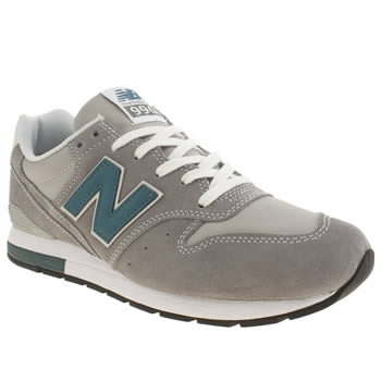 Mens New Balance Grey 996 Trainers