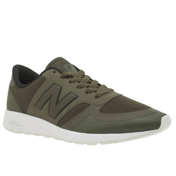 New Balance Khaki  420 Trainers