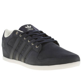 mens adidas navy plimcana 2-0 trainers