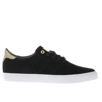 ADIDAS BLACK SEELEY PREMIERE TRAINERS