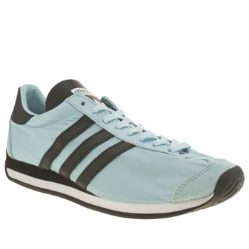 Adidas Pale Blue Country Og Trainers