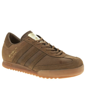 mens adidas brown beckenbauer trainers