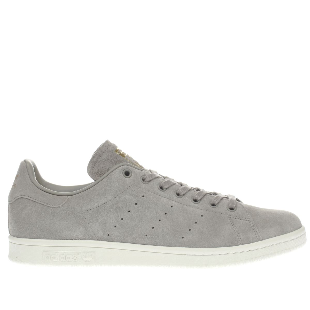 Adidas Stan Smith Grey Yellow