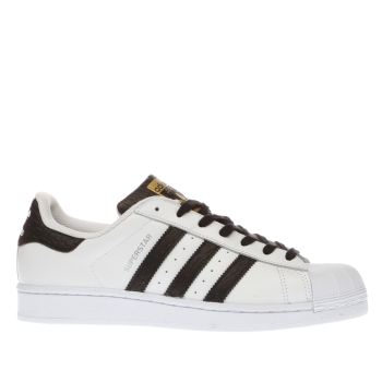 Adidas White & Black Superstar Foundation Mens Trainers