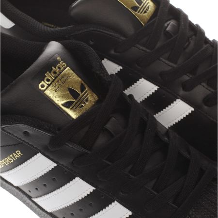 Adidas Superstar Foundation Shoes Black/Black/White