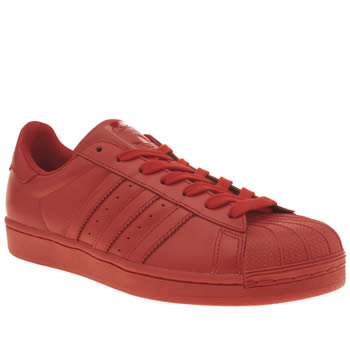 Adidas Red Superstar Supercolor Trainers