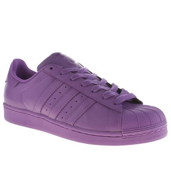 Adidas Purple Superstar Supercolor Trainers