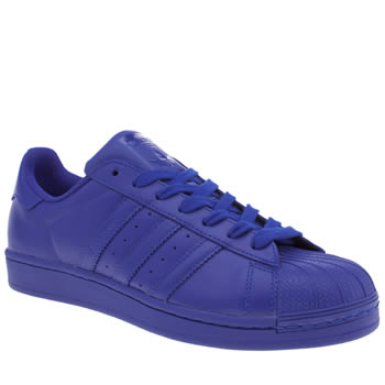 Adidas Blue Superstar Supercolor Trainers