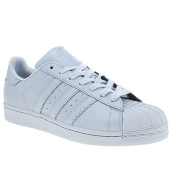 Adidas Pale Blue Superstar Supercolor Trainers