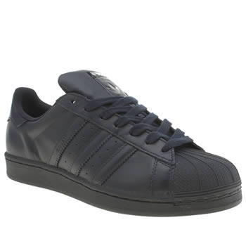 Mens Adidas Navy Superstar Supercolor Trainers