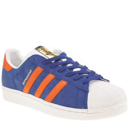 Adidas Blue Superstar East