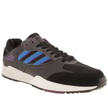 Black and blue Adidas Tech Super