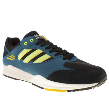 mens adidas navy tech super trainers
