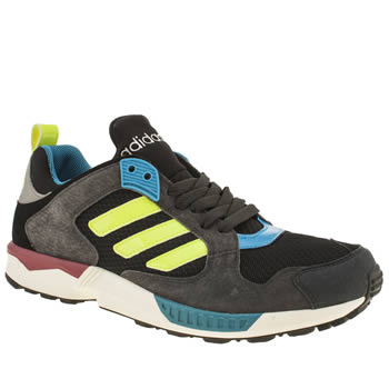 Adidas Black & Grey Zx 5000 Response Trainers