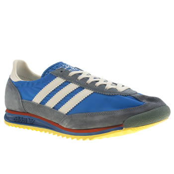 Mens Adidas Blue Sl-72 Trainers