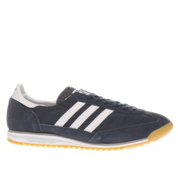 Mens Adidas Navy Sl-72 Trainers
