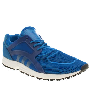 Mens Adidas Blue Racer Lite Trainers