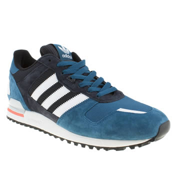 Adidas Blue Zx 700 Trainers