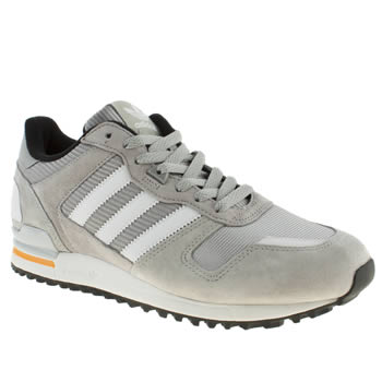 Adidas Light Grey Zx 700 Trainers