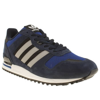 Mens Adidas Navy & Grey Zx 700 Trainers
