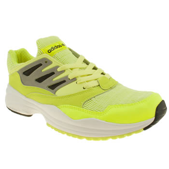 mens adidas yellow torsion allegra trainers