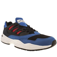 Black and blue Adidas Torsion Allegra