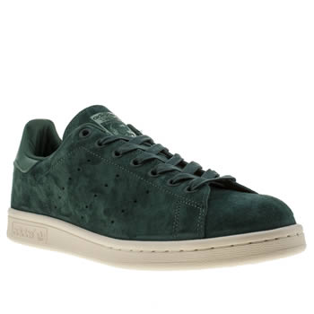 Adidas Dark Green Stan Smith Trainers