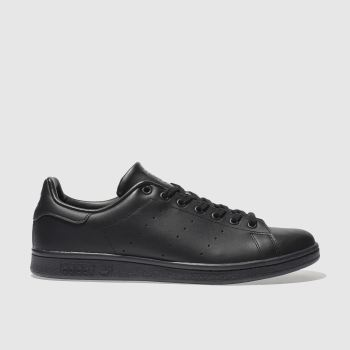 Adidas Black Stan Smith Mens Trainers