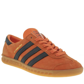 Adidas Orange Hamburg Trainers