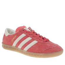 Adidas Red Hamburg Mens Trainers