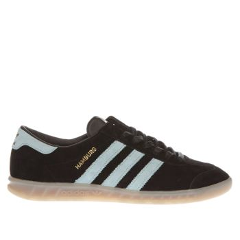 Adidas Black and blue Hamburg Trainers