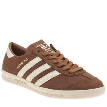 Adidas Brown Hamburg Trainers