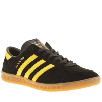 Adidas Black Hamburg Trainers