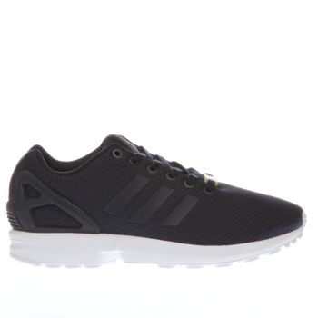 Adidas Navy Zx Flux Weave Mens Trainers