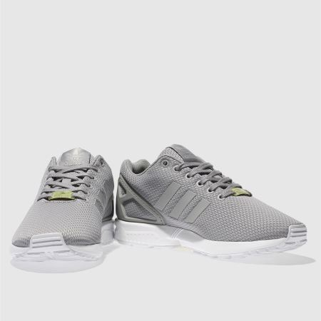 adidas ZX Flux retro running trainers grey M19838 CotArroz