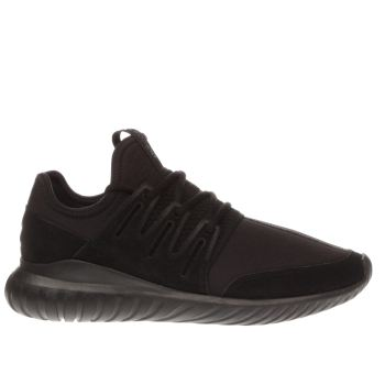 Adidas Black Tubular Radial Trainers