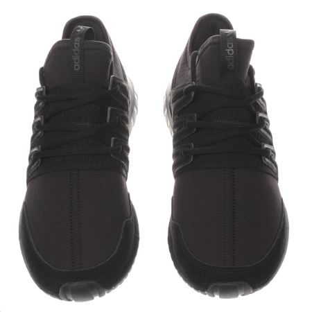 Adidas Tubular Radial All Black