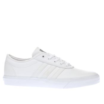 Adidas White Ease Trainers