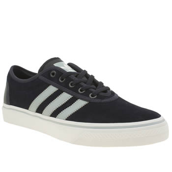 Mens Adidas Navy & Pl Blue Ease Trainers