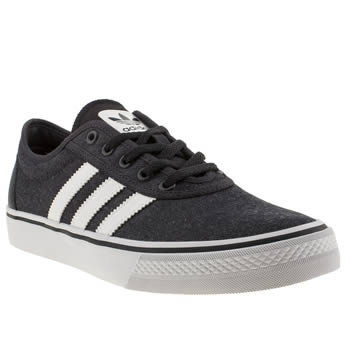 Mens Adidas Navy & White Adi Ease Trainers