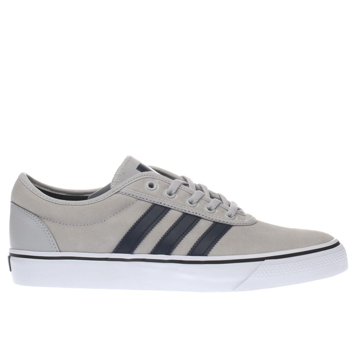 adidas light grey adiease trainers