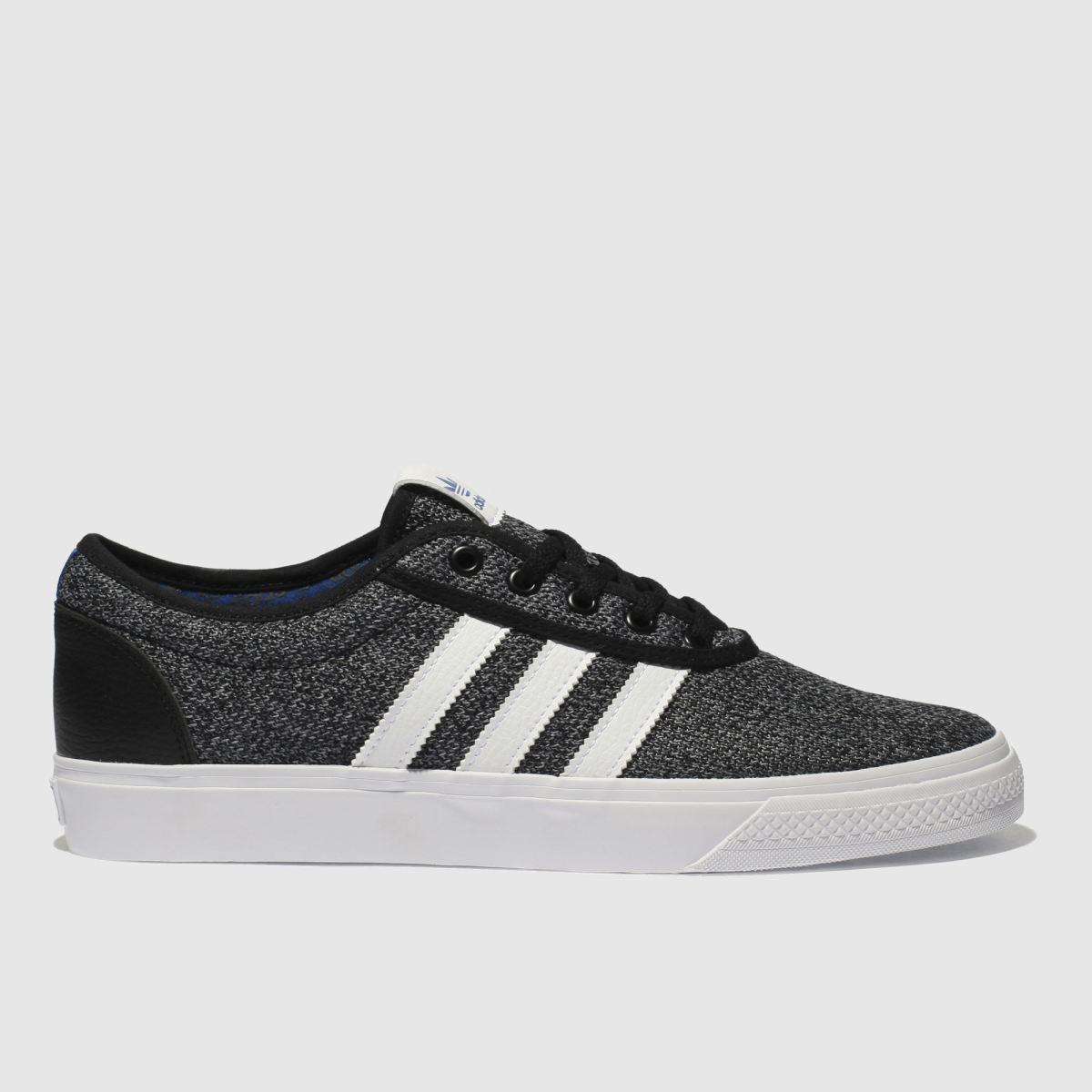 Adidas Skateboarding Black & Grey Adi-ease Trainers