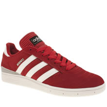 Adidas Red Busenitz Mens Trainers
