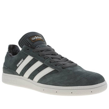 Adidas Teal & White Busenitz Trainers