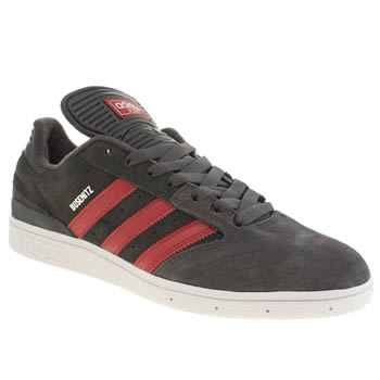Mens Adidas Grey Busenitz Trainers